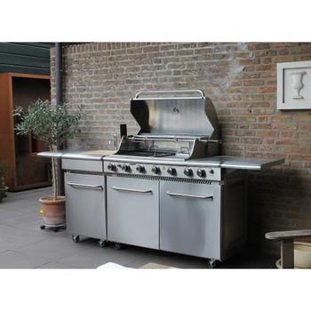 Cucina Da Esterno Ckw Luxus - Buy Cucina Da Esterno A Gas In Acciaio Inox  Product on Alibaba.com
