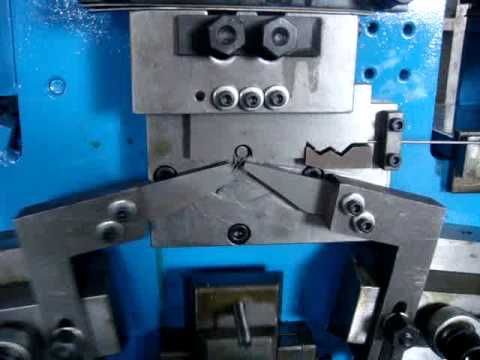 R pin R clips and Omega shaped pins making machine