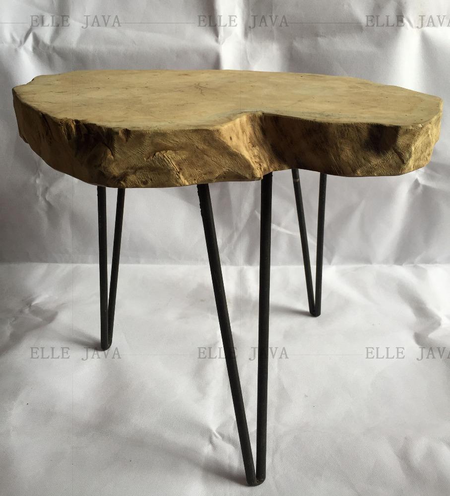 Muebles de jard n de teca ra z heces w 39 metal 45x55 cm - Muebles de teca ...