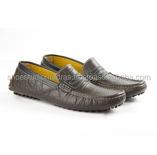 LEATHER MEN FOR LOAFERS SHOES CHACO PRINTED CROC CASUAL zY0Zxw0gqE