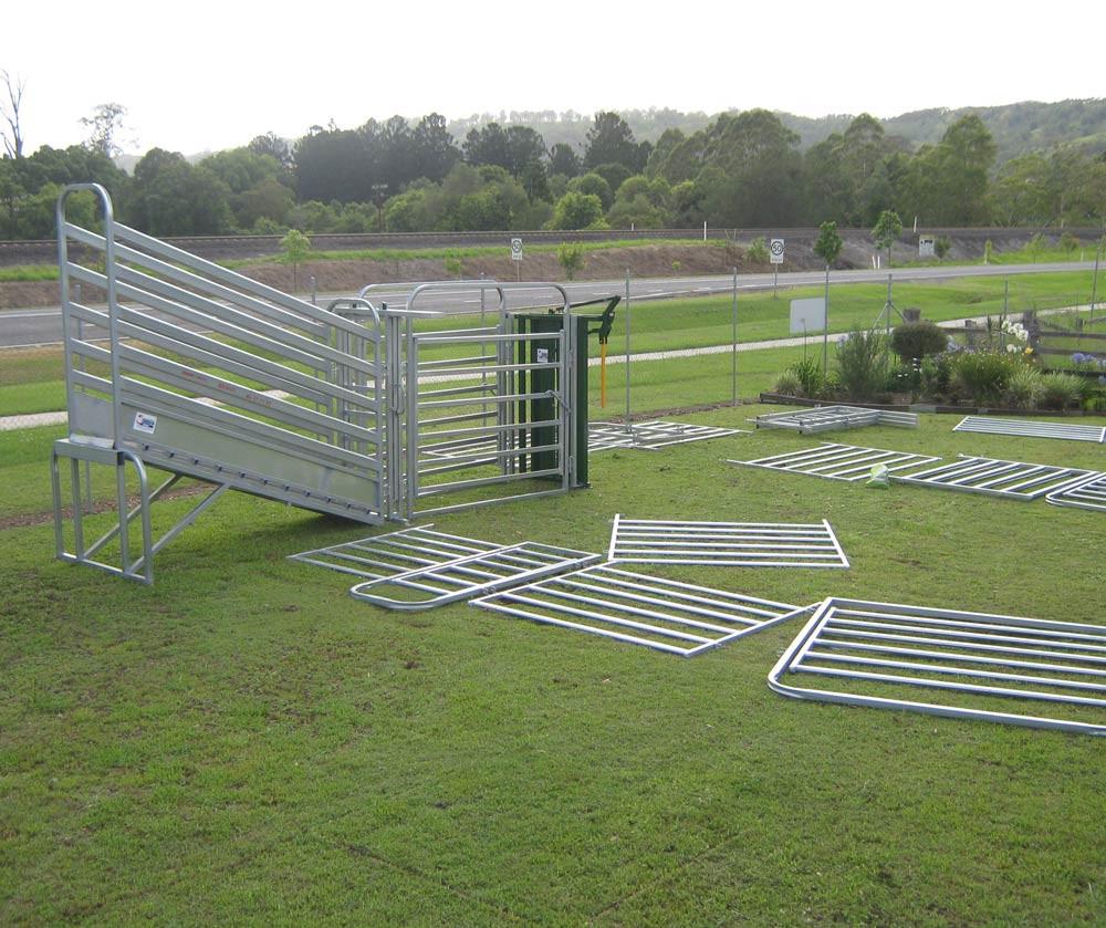 Livestock Metal Galvanized Pipe Corral Fence Panels Buy