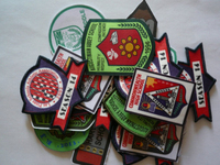 Sublimation and Woven badges Uniform and Name Badges
