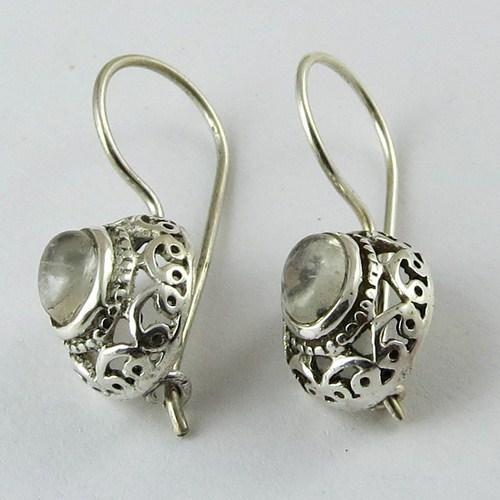 Perfect Oxidized Jhumka 925 Sterling Silver Earring Online Jewelry Fine Jewellery
