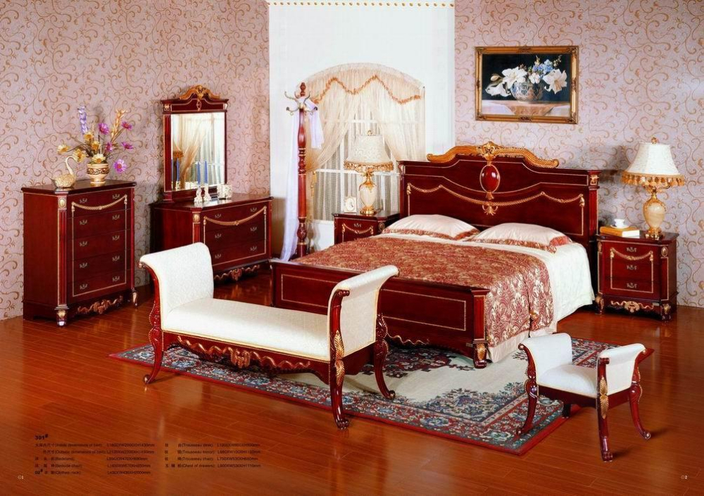 Classic Mahogany Bedroom Set   Buy Jordans Furniture Bedroom Sets Product  On Alibaba.com
