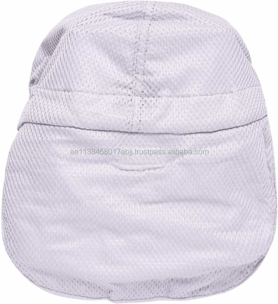 Cool Bit Unisex Breton Hat - Grey cap Safety Head Protection Workwear