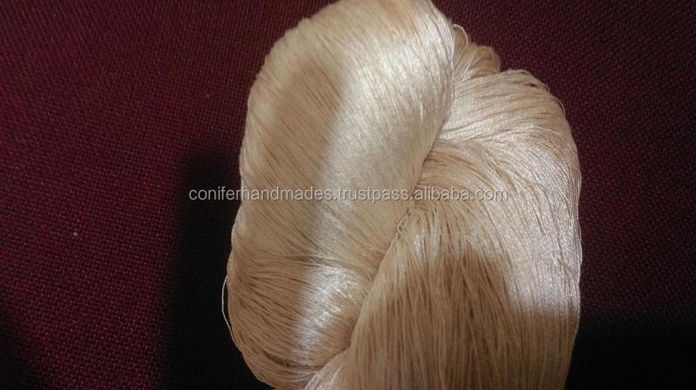 Golden Muga Silk Yarns For Spinners,Weavers,Yarn Stores
