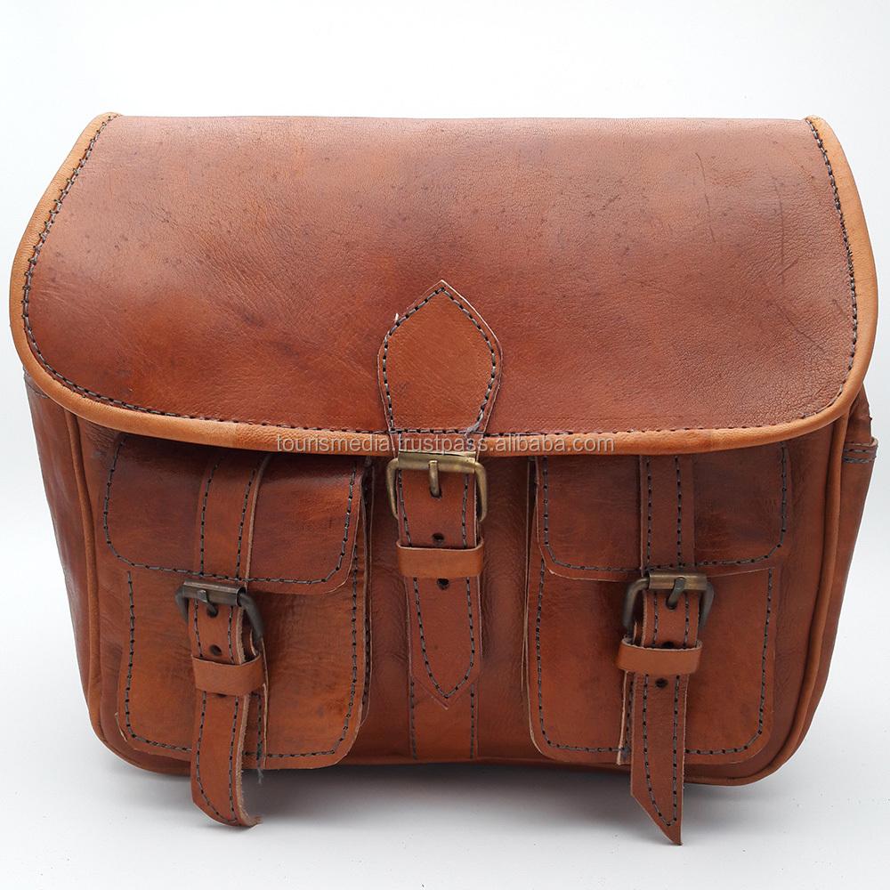 Moroccan Handmade Leather Camera Bags Wholer 21hazel Vintage Bag Genuine Product On