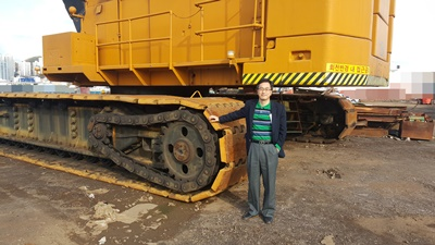 [ Winwin Used Machinery ] Used Crawler crane American 11310 400 ton 1980yr For Sale