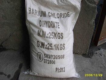hydrated barium chloride formula