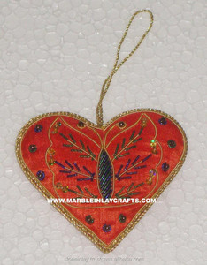 Indian Embroidery Christmas Hanging Gift
