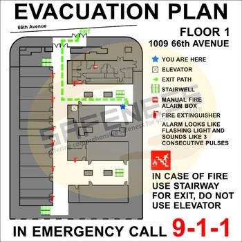 Evacuation Maps Sql-sgn-sc-em-003