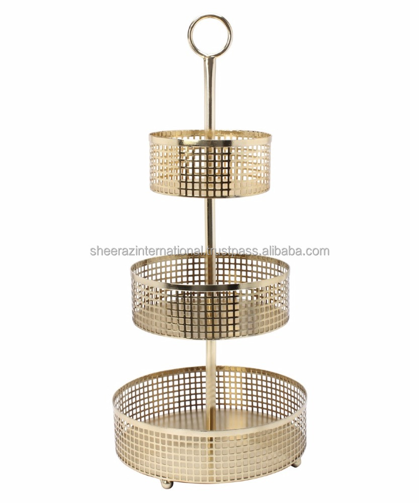 3 Tier Basket Stand, 3 Tier Basket Stand Suppliers And Manufacturers At  Alibaba.com