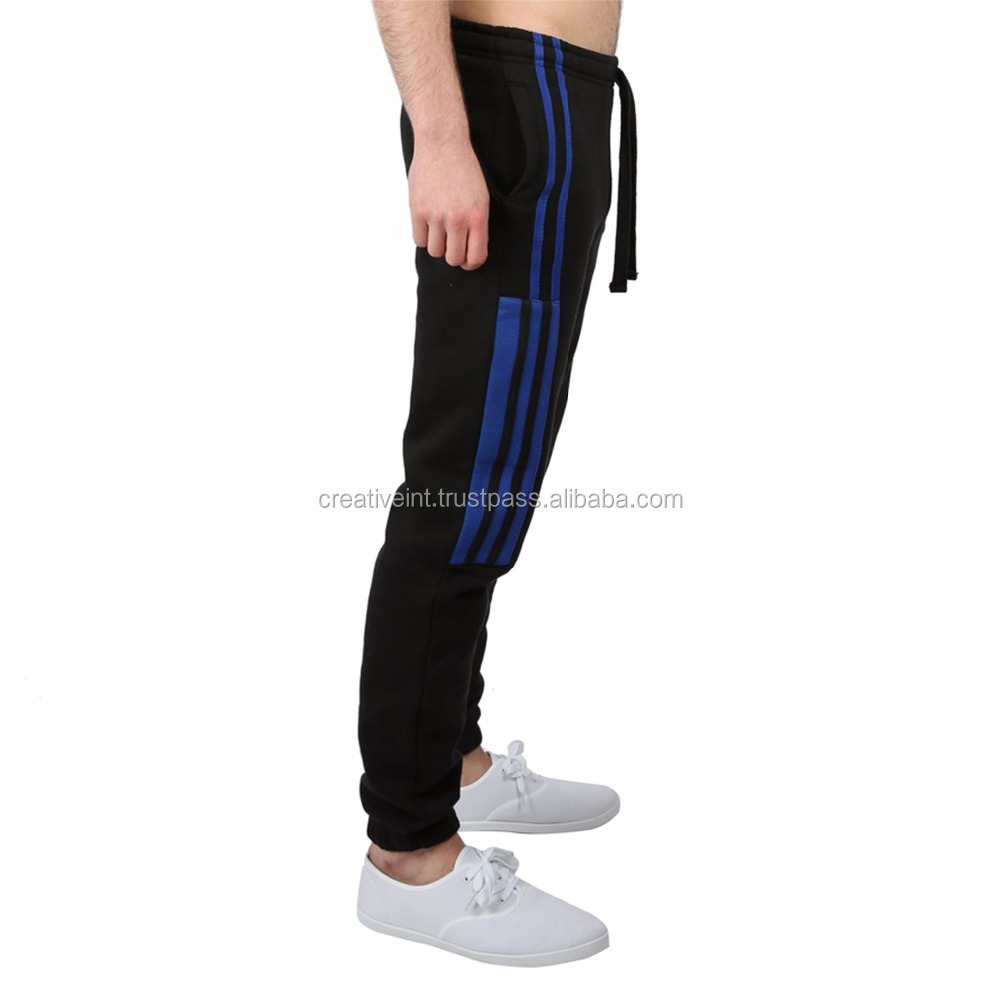new men's gym Athletic Track Fleece sweat joggers pants