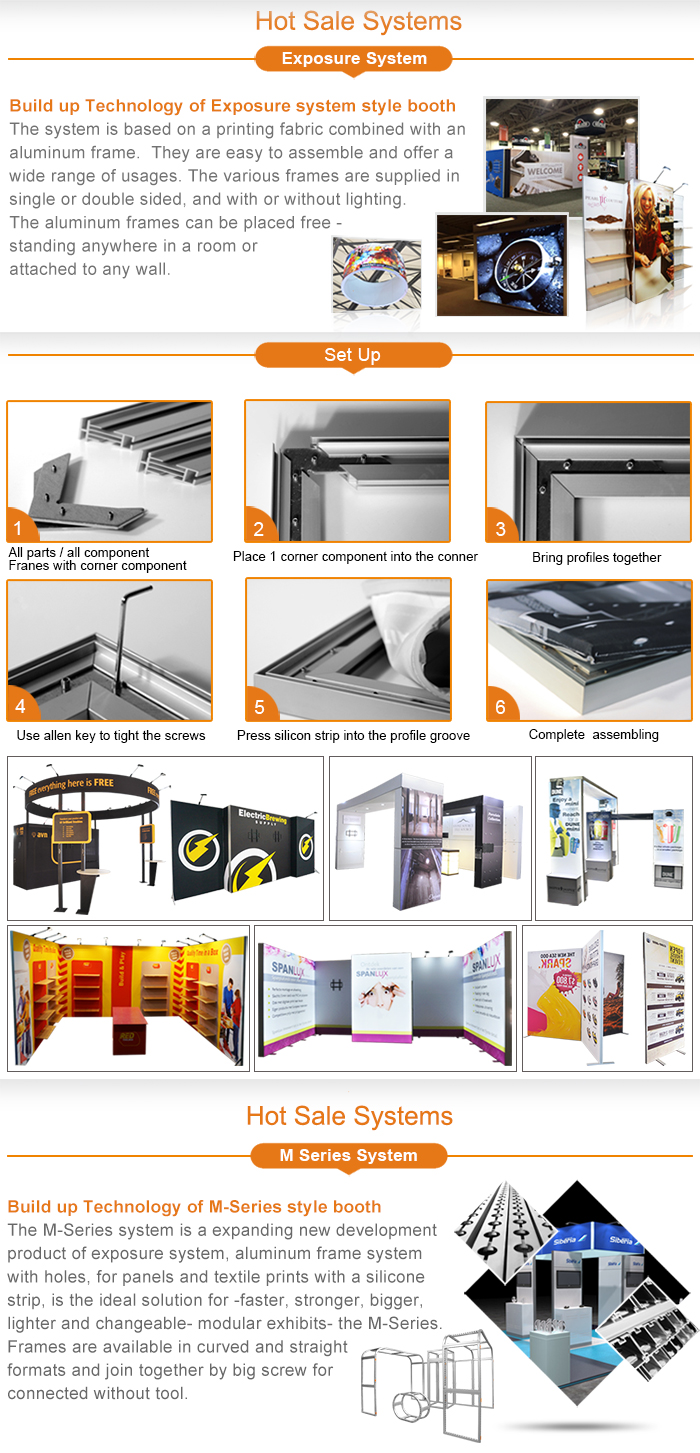 Aluminum Extrusion Standard Modular Shell Scheme Led Lighting ...