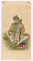 Folk Musician Of Rajasthan Original Water Color Hand Painted Miniature Art Indian Painting