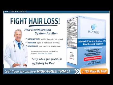 Best!!! Hair Regrowth!!! for Men!!! - Provillus!!! for Men!!! Review!!!