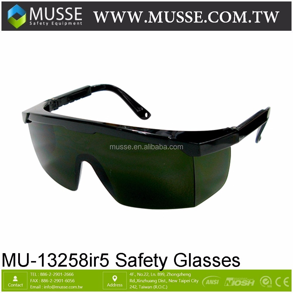 0246aa832c Mu-13258ir3 Shade 3 Side Shield En166 Safety Glasses - Buy Ce ...