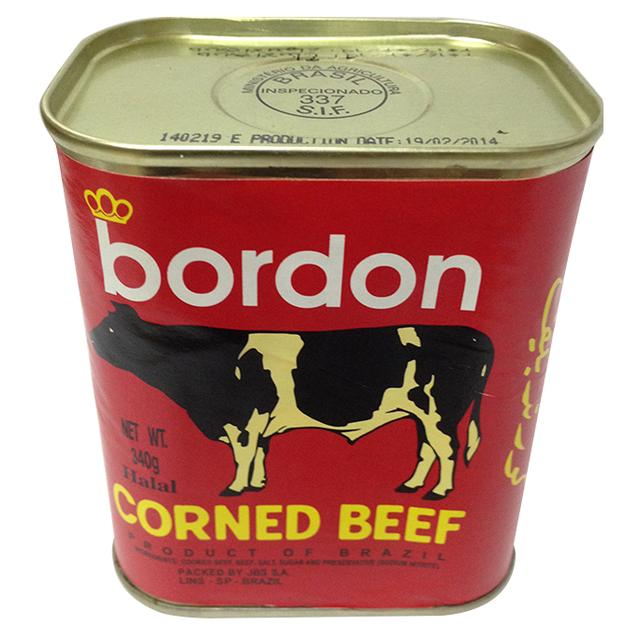 Bordon Corned Beef 340gr