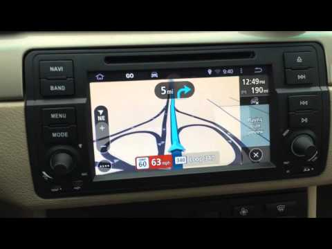 Update on BMW E46 Android KITKAT Navigation TomTom)