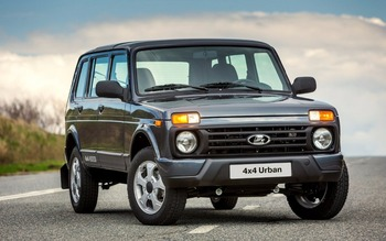 LADA NIVA Urban 4x4 5-door 1,7 l 5MT, 83 hp - EXPORT READY