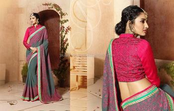 Artistic Orange Crushed Silk On Net Saree/saree Border Embroidery  Designs/wholesale Saree - Buy Kanchipuram Silk Saree,Latest Design Soft  Silk