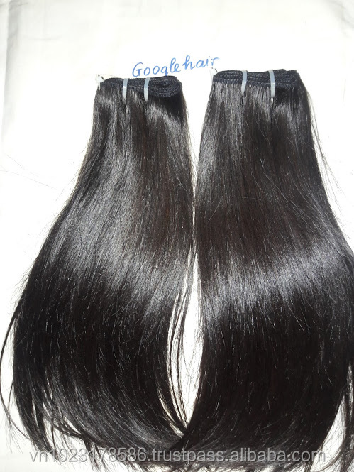 100% Vietnam Human Hair Extensions Double Drawn Straight Hair Super Soft and Smooth Hair Shopping Online Good Price in Vietnam