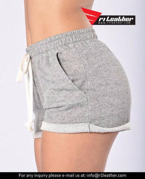 New Summer Women s Casual Shorts All-match Cotton Terry Shorts - Buy ... b201fad68