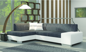Corner Sofa Bed European Style Modern Looking Fabio