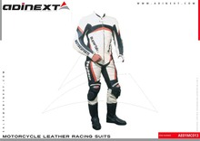 Motorbike Leather Suits, Custom Made Leather Suits Motorcycle Leather Racing Suits, Leather Racing Suits - Item No. AE01MC013