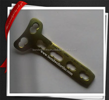 4.5 mm T Locking Surgical Titanium plate Orthopedic Implants