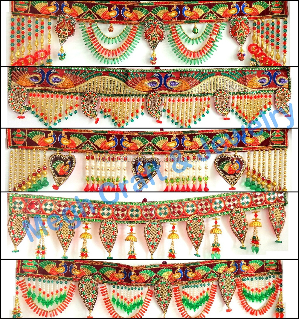 wholesale home decor india indian handmade beaded wall hanging diwali 11832