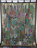 Ethnic Indian Handmade Curtains , Bohemian Tribal Patchwork Wall Decor Art Curtains