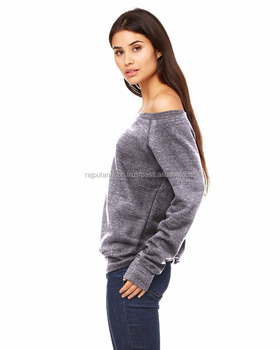 a171984a5c87a Sweater Off Shoulder Sweatshirt Oversized Sweater