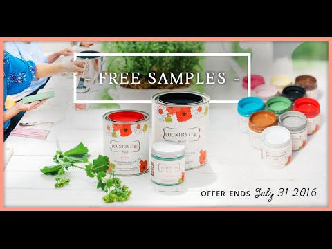 Try Country Chic Paint for FREE! Get a free sample now! | Country Chic Paint Free Sample Promo 2016