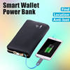 custom man wallet genuine leather wallet for man china Automatic alarm wallet