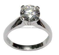 OEM Jewelry Engagment Rings Wedding Rings With Diamonds