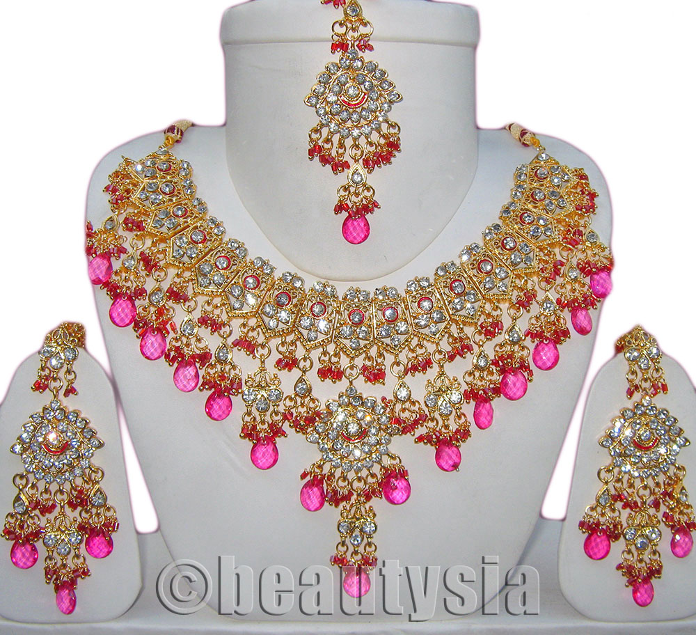 Artificial Indian Bridal Jewellery Set, Artificial Indian Bridal Jewellery  Set Suppliers And Manufacturers At Alibaba