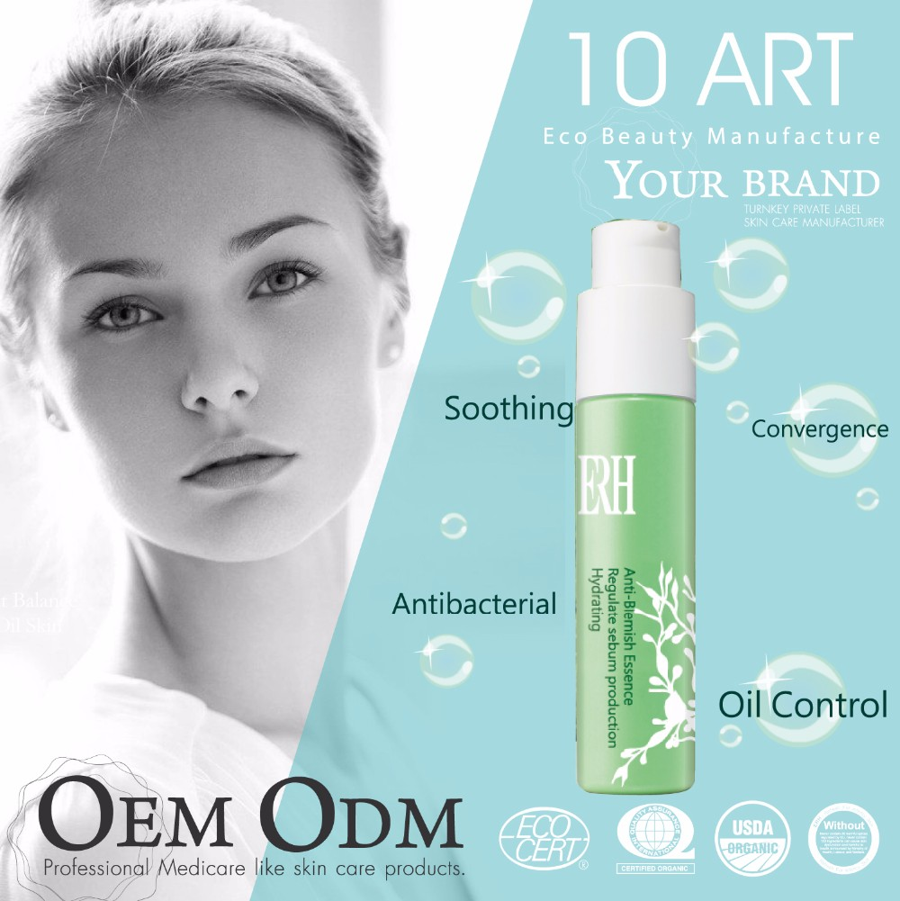 Natural Skin Acne Treatment Face Serum In Ampoule Oily Skin