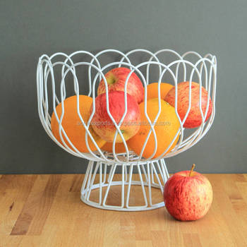 Wire mesh Large Table top Fruits Storage Basket