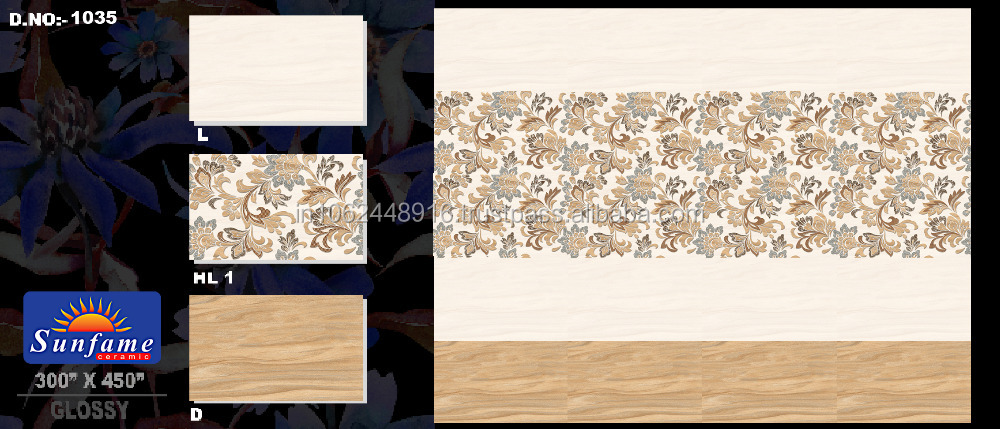 Digital Wall Tiles for Daejeon; Various Sizes & Designs