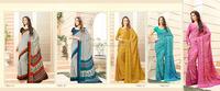 Color Combination South Indian Cotton Silk Saree / South Indian Color Combination Cotton Silk Saree