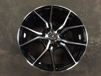 New! 15 inch Inforged IFG 20 Rim (Gloss Black with Polished Surface)