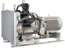 KR typed approved Air cooled - Water cooled reciprocating air compressor for Ships