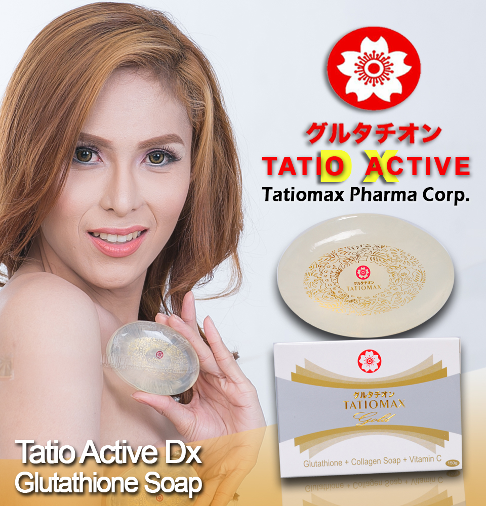 tatiomax Whitening Soap with Collagen