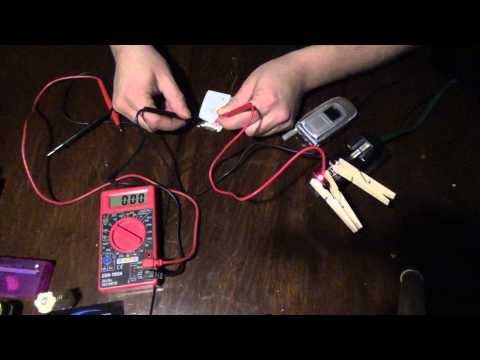 How to wake a dormant Lithium Battery Cell. Works on both Cell Phones & 18650s & Similar