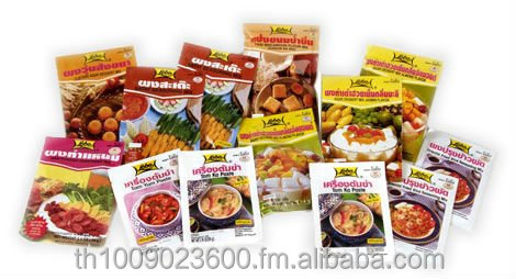 "seasoning & condiments ""Lobo"" Tom Yum paste good taste quality and various flavour"
