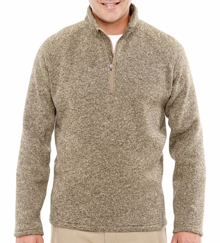 Mens Bristol Half Zip Sweater Fleece 140029