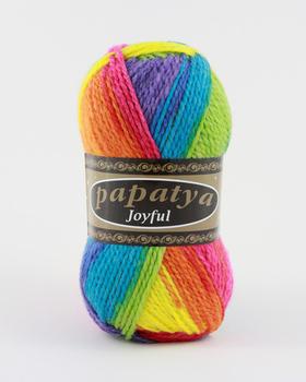 Wool Hand Knitting Yarn Papatya Joyful 400-16