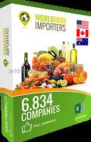 World Food Importers Directory : USA - CANADA - AUSTRALIA
