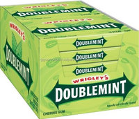 Wrigley Doublemint Chewing Gum 60 box/ Wholesale chewing gum/Confectionery / candy